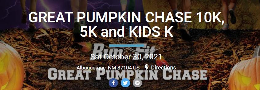 Great Pumpkin Chase flyer